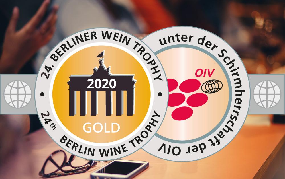 16 x Gold bei der Berliner Weintrophy Frühjahr 2020