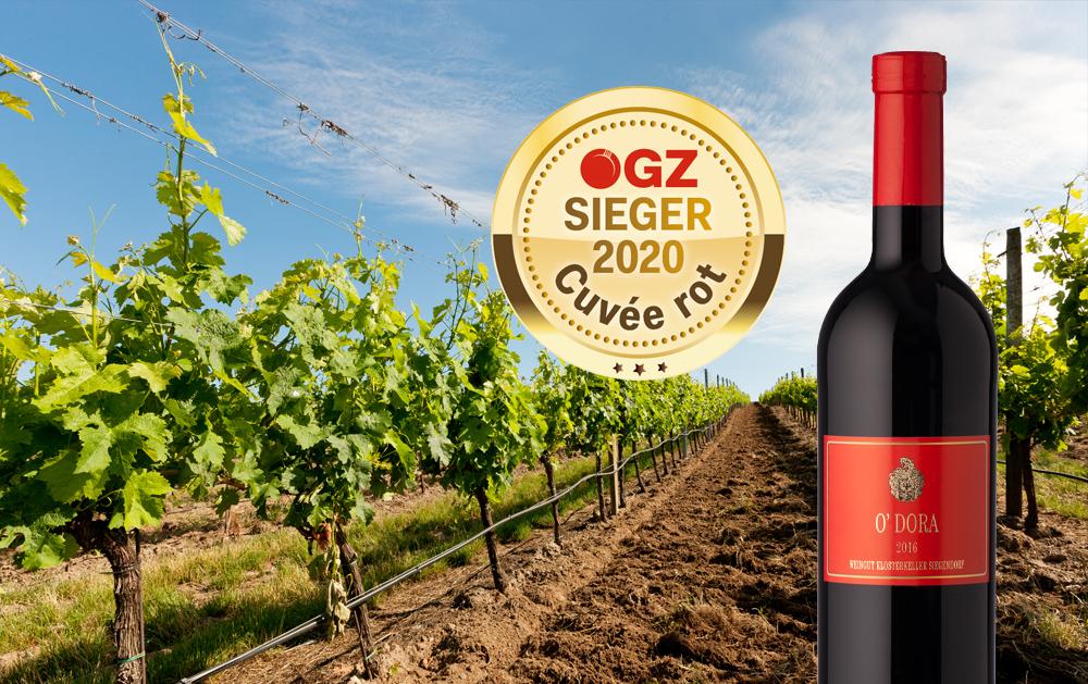 ÖGZ -Sieger Cuvée Rot: Klosterkeller Siegendorf O'Dora 2016