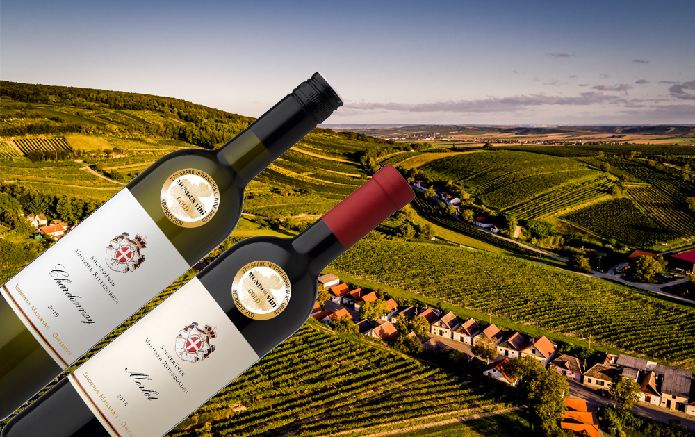 2 x Gold beim internationalen Weinpreis Mundus Vini Sommer 2020