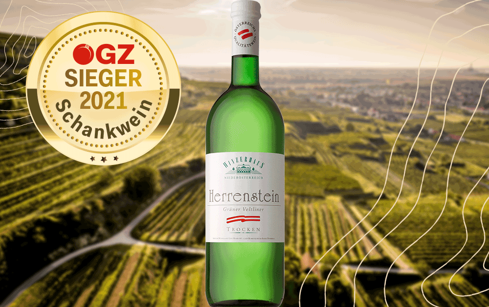 ÖGZ-Sieger: Grüner Veltliner Herrenstein!